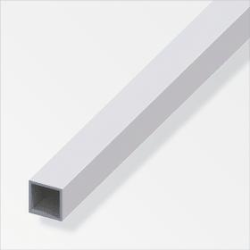 Vierkantrohr 1 x 10 x 10 mm silberfarben 2 m alfer 605086600000 Bild Nr. 1