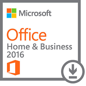 PC MS OFFICE HOME + BUSINESS 2016 ESD