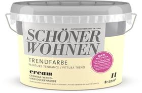 Pittura trend OPACA 1L Cream Cream 1 l Schöner Wohnen 660962100000 Colore Cream Contenuto 1000.0 ml N. figura 1