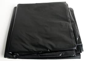 Abdeckplane schwarz 4x5m gefaltet, 75my dick Abdeckungen Color Expert 661615400000 Bild Nr. 1