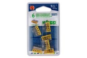S2273 Compact, 5 ingressi, 6 pezzi Morsetti per connessione rapide Wago 613093300000 N. figura 1