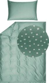 AZUL Taie d'oreiller satin 451309210662 Couleur Vert Dimensions L: 65.0 cm x H: 65.0 cm Photo no. 1