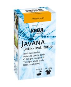 KREUL Javana Batik Teinture Textile Happy Orange 70 g Peintures textiles batik 608118800000 Photo no. 1