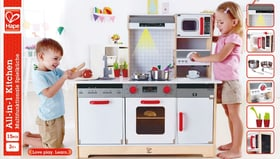 Multifunktionale Spielküche Rollenspiel Hape 746490200000 Bild Nr. 1