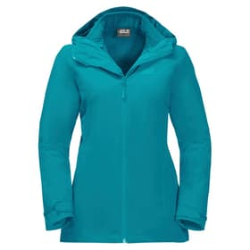 Norrland 3in1 Veste pour femme Jack Wolfskin 462787100382 Taille S Couleur turquoise claire Photo no. 1