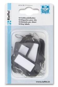 Schlüsseletiketten Schwarz Rieffel 605603400000 Bild Nr. 1
