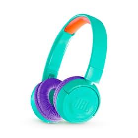 JR300 BT - Teal Cuffie On-Ear JBL 785300152804 N. figura 1