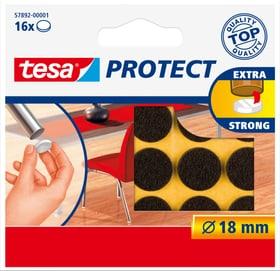 Feutres anti-rayures ronds, brun, 18mm Tesa 663079500000 Photo no. 1