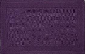NAVE Tapis en tissu éponge 450854721546 Couleur Violet Dimensions L: 50.0 cm x H: 80.0 cm Photo no. 1