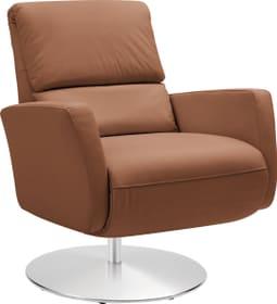 ARTHUR Relaxsessel 402476307055 Grösse B: 74.0 cm x T: 95.0 cm x H: 84.0 cm Farbe Cognac Bild Nr. 1