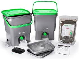 Bokashi bac de compostage-Set Skaza 631343900000 Photo no. 1