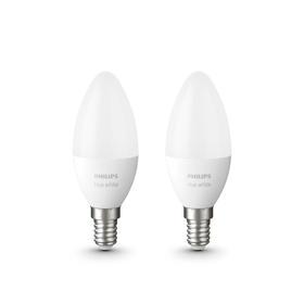 HUE white 2 x Extension E14 2x LED E14 6W Philips hue 421089700000 Bild Nr. 1