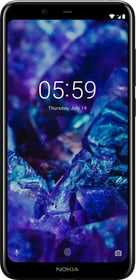 5.1 PLUS DS noire Smartphone Nokia 785300146692 Photo no. 1