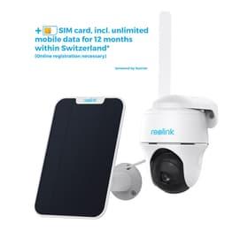 Reolink Argus PT GO incl. Solarpanel e scheda SIM Telecamera di videosorveglianza Reolink 614183900000 N. figura 1
