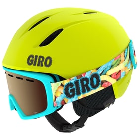 Launch Combo Wintersport Helm Giro 461806751055 Farbe neongelb Grösse 51-55 Bild-Nr. 1