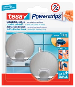 Tesa Powerstrips Metall Haken Small Rund Kaufen Bei Do It Garden