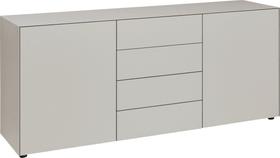 LUX Sideboard 400820000088 Dimensions L: 180.0 cm x P: 46.0 cm x H: 72.5 cm Couleur Gris taupe Photo no. 1