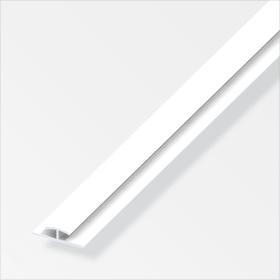 Einfass-Profil 4 x 25 mm PVC weiss 1 m alfer 605136500000 Bild Nr. 1