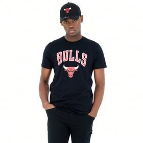 Chicago Bulls NBA SS Tee Shirt New Era 466721500320 Grösse S Farbe schwarz Bild-Nr. 1