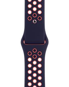 40mm Blue Black/Bright Mango Nike Sport Band - Regular Armband Apple 785300156964 Bild Nr. 1