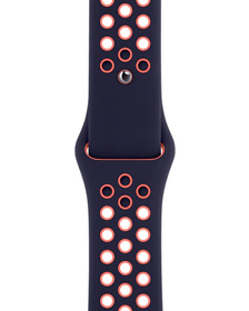 44mm Blue Black/Bright Mango Nike Sport Band - Regular Bracelet Apple 785300156967 Photo no. 1