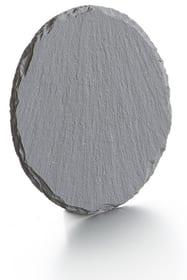 Piastra in ardesia Balthasar 655732500000 Colore Antracite Taglio ø: 10.0 cm x A: 4.0 mm N. figura 1