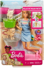 FXH11 Badespass Tiere Puppenset Barbie 746592000000 Bild Nr. 1