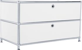 FLEXCUBE Lowboard 401813610110 Grösse B: 77.0 cm x T: 40.0 cm x H: 44.5 cm Farbe Weiss Bild Nr. 1
