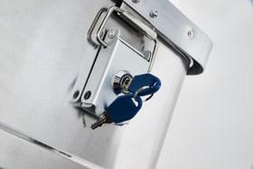 Zylinderschloss Set gleichschliessend Aluminiumbox Alutec 601474800000 Bild Nr. 1