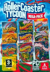 PC - Pyramide: RollerCoaster Tycoon Mega-Pack (D) Box 785300135599 Photo no. 1