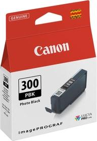 PFI-300 Cartouche d'encre noir photo Cartouche d'encre Canon 798289000000 Photo no. 1