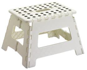 BOB Tabouret pliant 407610200010 Dimensions L: 31.0 cm x P: 22.0 cm x H: 22.0 cm Couleur Blanc Photo no. 1