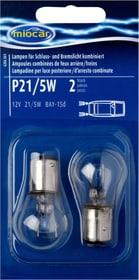 P21/5W Schluss-/Bremslicht Autolampe Miocar 620456100000 Bild Nr. 1