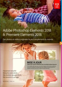 PC/Mac - Photoshop Elements 2018 & Premiere Elements 2018 Upgrade (F)