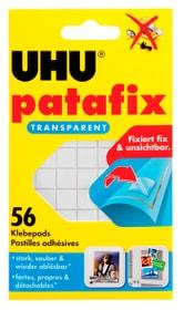 Patafix transparent 56 pièces Colle instantanée + colle universelle Uhu 663086600000 Photo no. 1