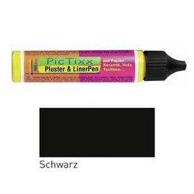 Pluster & Liner Pen C.Kreul 664802200016 Farbe Schwarz Bild Nr. 1