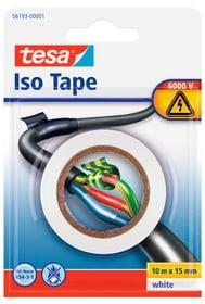 Isolierband, weiss, 10mx15mm Klebebänder Tesa 663078600000 Bild Nr. 1