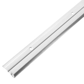 Wandleiste EASY weiss 1000 mm Regalsysteme ELEMENTSYSTEM 603468500000 Bild Nr. 1