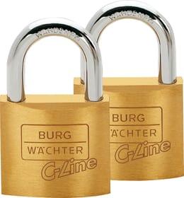 Zylinderschloss C-Line 222 40 Duo Set Burg-Wächter 614062800000 Bild Nr. 1