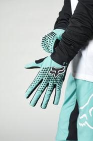 Defend Gants de cyclisme pour femme Fox 463514600482 Taille M Couleur turquoise claire Photo no. 1