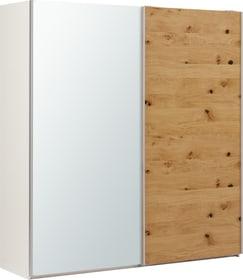 LAMBERT Armoire à portes coulissantes 407713900000 Dimensions L: 202.0 cm x P: 67.0 cm x H: 220.0 cm Couleur Chêne brut Photo no. 1