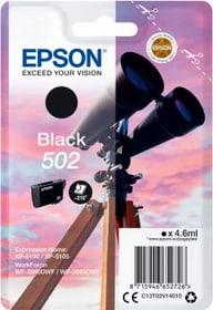 Tintenpatrone 502 schwarz Tintenpatrone Epson 798558900000 Bild Nr. 1