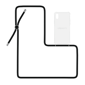 Necklace Case Night Owl iPhone X / XS Custodia Urbany's 785300159403 N. figura 1