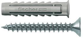 Nylondübel SX 6 x 30 inkl. Schrauben fischer 605432200000 Bild Nr. 1