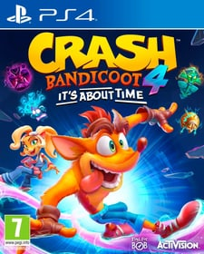 Crash Bandicoot 4 : It`s About Time Box 785300153829 Langue Allemand Plate-forme Sony PlayStation 4 Photo no. 1