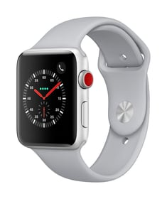 Watch Series 3 GPS/LTE 42mm silver/fog