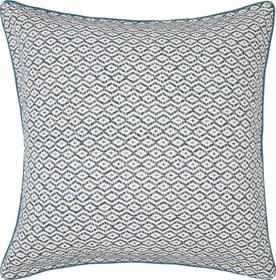 ZAHIRA Coussin décoratif 450733040565 Couleur Pétrole Dimensions L: 60.0 cm x H: 60.0 cm Photo no. 1