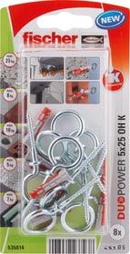 DUOPOWER 5 x 25 avec crochet piton fischer 605441300000 Photo no. 1