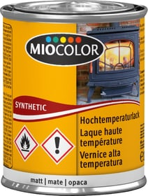Hochtemperaturlack matt Schwarz 125 ml Synthetischer Lack Miocolor 661440700000 Bild Nr. 1