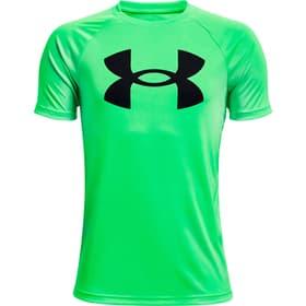 Tech™ Big Logo Short Sleeve Fitnessshirt Under Armour 466872212860 Grösse 128 Farbe Grün Bild-Nr. 1